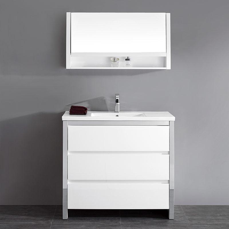 025-1000S Cabinet & Vanity Set