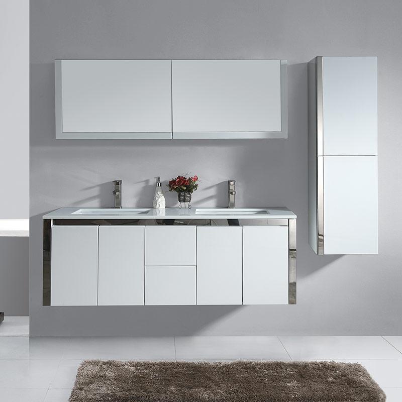 025-1500 Cabinet & Vanity Set
