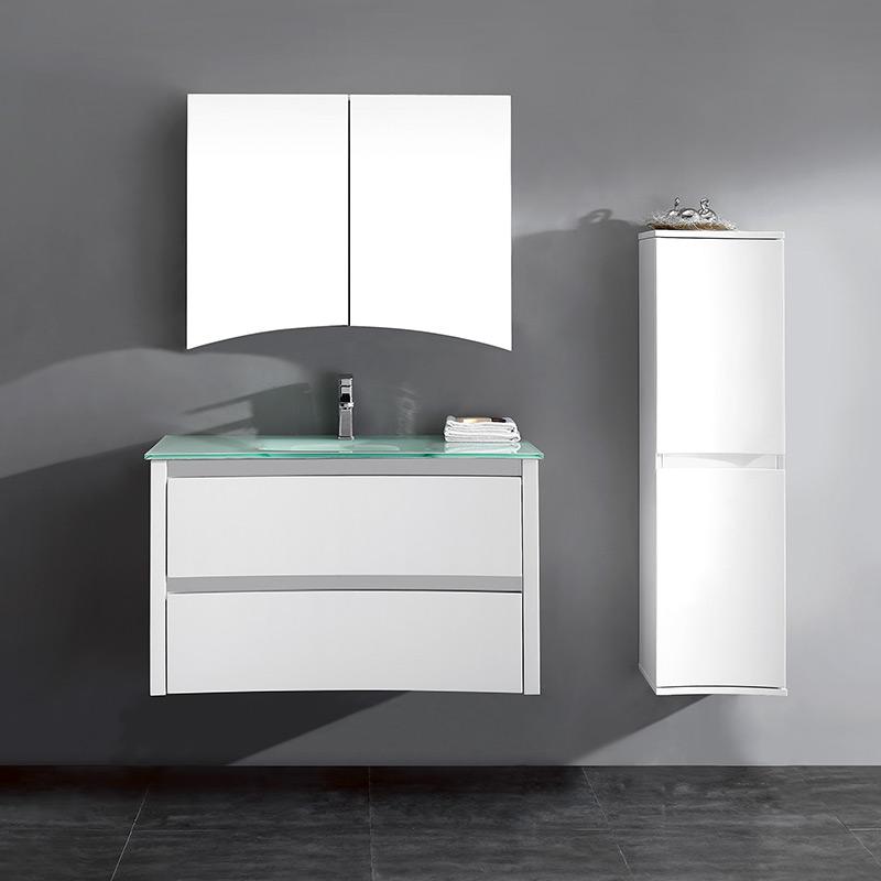 034-1000 Cabinet & Vanity Set