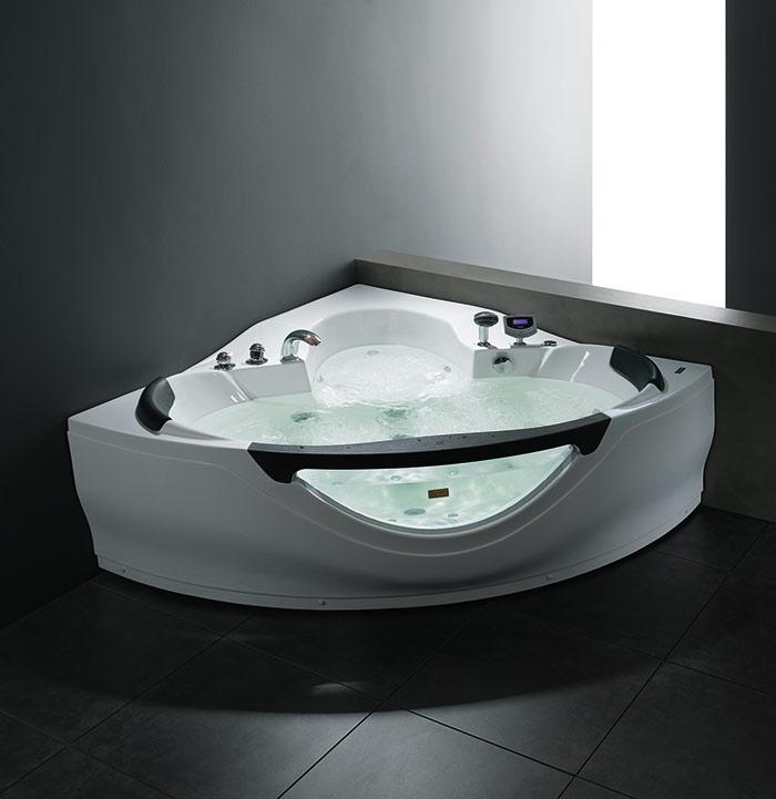 A407 Shell Series Massage Bathtub